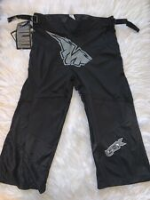 New w/ Tag Mission Bsx Inline Hockey Pant Junior-M roller derby boys youth Grey