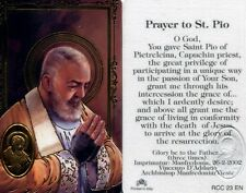 Prayer St. Pio Pietrelcina Capuchin Priest Participated in The Passion - RCC23EN