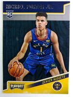 2018-19 Panini Chronicles Playoff Michael Porter Jr Rookie RC #171, Nuggets