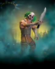 DC: Batman Arkham City series 3: CLOWN THUG WITH KNIFE figure - SALE!