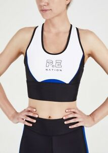 Special Pe Nation Women's Acceleration Sport Bra Workout Gym Yoga Crop Top XS S