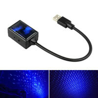 USB Car Interior Roof Atmosphere Starrry Sky Lamp LED Projector Star Night Light
