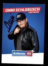 Onni Schlebusch Autogrammkarte Original Signiert # BC 110133