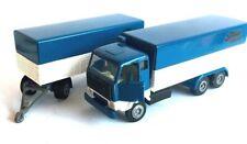TEKNO Holland 425 VOLVO F89 + 452 TRUCK Blue-white MINT no box