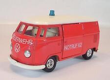 Tomica dandy 1/43 Volkswagen VW t1 delivery van bomberos #5116