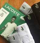 One Lacoste Essentials Mens V Neck T Shirt XS S M L XL Cotton Classic Fit New