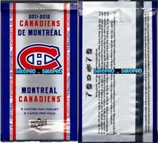 UD McDONALD 2011 HOCKEY CANADIENS SEALED PACK inserted random RARE GOLD CARD?