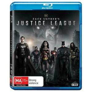 Zack Snyder's Justice League Blu-Ray BRAND NEW Region B