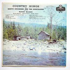 LP Scotty Stevenson Nighthawks Country RARE SIGNED    Cash  Nelson   Denver
