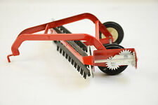 VINTAGE ERTL IH INTERNATIONAL HARVESTER HAY RAKE 1/16 RED FARM TOY