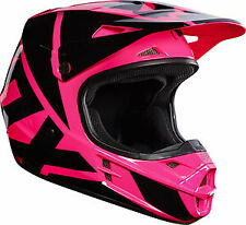Fox Racing Adult V1 Race Helmet MX ATV Off Road Motocross Pink 17343-170