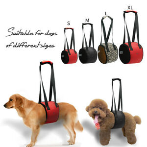 Pet Lift Support Handle Harness Back Hip Injured Carrier for Small to Large Dogs