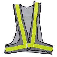 Hi-Viz Reflective Vest High Visibility Warning Construction Safety Gear FK