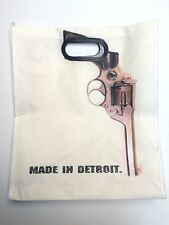 NEW MADE IN DETROIT Tote Bag Reusable Eco with Handles Motor City Carry All Gift