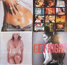 JENNIFER LOPEZ  4 x CD's. 2 x ALBUMS, 1 x MAXI & 1 x SINGLE. UK DISPATCH