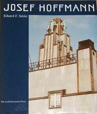 Eduard F. Sekler, Josef Hoffmann, Das Architektonische Werk, Werkverzeichnis