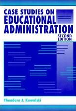Case Studies on Educational Administration by Theodore J. Kowalski (1994, Paper…