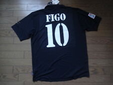 Real Madrid #10 Figo 100% Original Centenary Jersey 2002 Away L NWT NEW Rare
