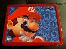 Nintendo DS Metal Tin Lunchbox Super Mario