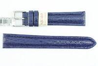 Haileder Uhrenarmband von MORELLATO Haifisch-Leder Blau 18mm Länge: M  UVP: 45€