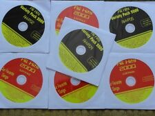7 CDG DISCS ROCK OLDIES KARAOKE CD- POISON, ZZ TOP,JOURNEY,ELVIS,MONKEES CD+G
