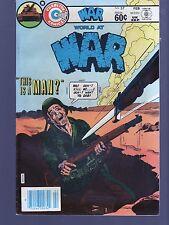 WORLD AT WAR 37    CHARLTON  WAR    COMICS
