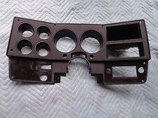 73-87 GM Truck Black Dash Instrument Bezel GMC Chevy Suburban Blazer OEM K10 K20