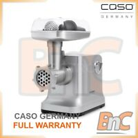Electric Meat Grinder Mincer Chopping CASO GERMANY FW2000 2000W Kitchen Burgers