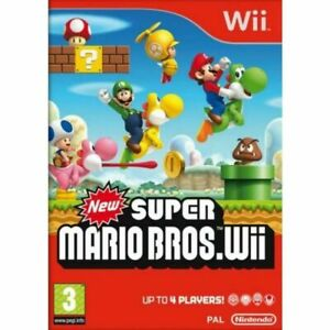 New Super Mario Bros. for Nintendo Wii EXCELLENT 1st CLASS FAST and FREE DELIVRY
