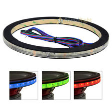 """Anillo de altavoz de 10"""" LED RGB Impermeable 1/2"""" Espaciador DS18 Lring 10 acento único"""
