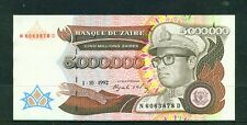 ZAIRE - 1992 5000000 Zaire Circulated Banknote