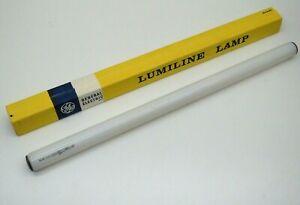 """GE L60/W Lumiline 60-Watt Lamp Light Bulb 60W Inside White 18"""" 115-125V"""