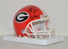 KIRBY SMART signed University of GEORGIA Mini Helmet Autograph UGA NCAA SEC