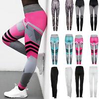 Donna Fitness Yoga leggings sportive da corsa workout Atletico pantaloni