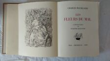 Les fleurs du mal, Charles Baudelaire, lithographies de Suzanne Ballivet, Nice