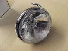 "MOTORCYCLE HEADLIGHT BATES STYLE 5 3/4"" BOTTOM FIT MAY FIT CHOPPER BOBBER W14"