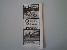 advertising Pubblicità 1973 MOTO TECNOMOTO MINI CROSS/PACIUGHINO