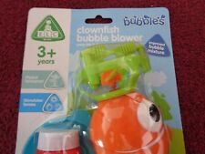 CLOWNFISH Bubble Blower - For children aged 3+ years.