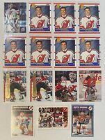 🥅HOF Martin Brodeur 15-CARD LOT w/ 1994-95 Leaf Gold Rookies #1 + 7 Score RKs