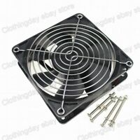 12V 120mm x 120mm x 38mm PC Computer Cooling Fan Big Airflow With Grill Screws