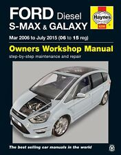 H6299 Ford S-MAX & Galaxy Diesel (Mar 2006 to July 2015) Haynes Repair Manual