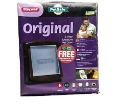 PetSafe Staywell Original 2 Way Medium Cat / Small Dog Flap Pet Door Brown New