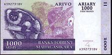 MADAGASCAR 1000 Ariary PICK 2004 .89 Nuovo di zecca UNC