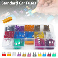 150pcs Standard Blade Car Auto Fuses 2 3 5 10 15 20 25 30 35 40A Assorted Set UK