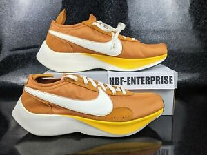 Nike Moon Racer QS Running Shoes Men's Size 15 Monarch Orange White Sail  NEW