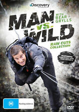 MAN VS WILD RAW CUTS COLLECTION BRAND NEW SEALED DVD (DISCOVERY, BEAR GRYLLS)