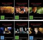 12 DVDs * WALLANDER COLLECTION NO. 1 - 6 IM SET ~ Henning Mankell # NEU OVP §