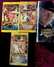 INDIANA JONES ADVENTURES OF HARRISON FORD GEORGE LUCAS 3 VHS BOX SET RARE NEW
