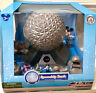 New! Disney World Monorail Spaceship Earth Epcot Adventure Playset W/Characters!