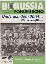 Orig.PRG   UEFA Cup  1986/87  BORUSSIA MÖNCHENGLADBACH - FEYENOORD ROTTERDAM  !!